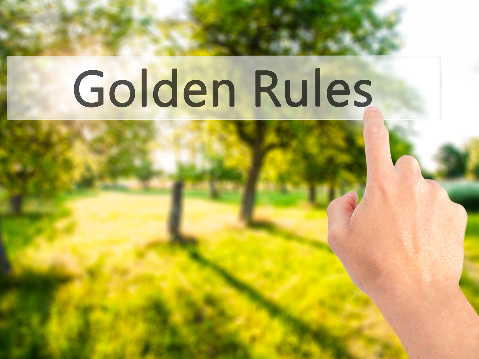 Rules for Retirement Newbies